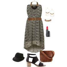 plus size boho chic datenight, created by kristie-payne on Polyvore