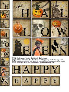 Halloween Inchie  Twinchie Banner