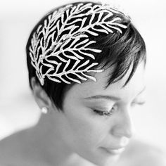 How to Rock the Perfect Wedding Hairstyles for Short Hair - Photography: KT Merry Photography