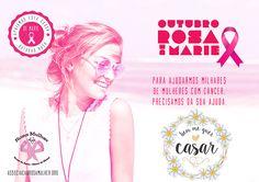 O Spa Day Outubro Rosa De Marie é uma ação beneficente em prol da ONG Rosa Mulher que apoia mulheres vítimas do câncer de mama. Estamos muito felizes em participar dessa ação que promove um dia de bem estar e ainda ajuda uma ação social tão importante!  Clique na foto e saiba como participar!