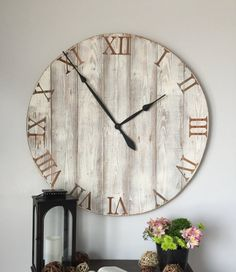 36 inch wall clock 36 inch clock oversized wall clock large wall clock