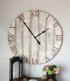 36 inch wall clock. 36 inch clock. by WoodLaneCreationsLLC on Etsy