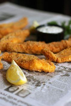 Fried Catfish | fullandcontent.com