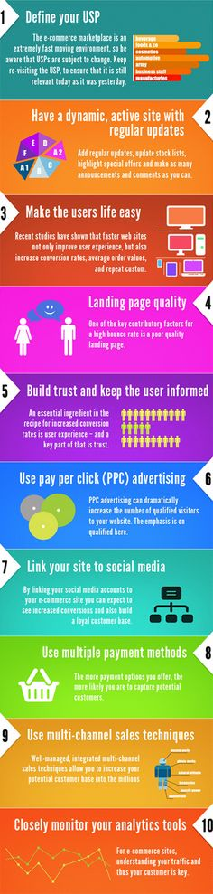 10 tips to increase your conversion rates. #success #marketing #E-Commerce #Infographic www.socialmediamamma.com