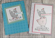 Stempelkrempel mit Papier : Willkommen zu Sale-a-Bration mit den (verrückten) Hühnern