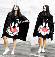 Looney Tunes Sylvester Hellzbellz Cute Pajama Sets, Cute Pajamas, Looney Tunes, Girly Outfits, Casual T Shirts, Cartoon Styles, Beautiful Gowns, Urban Fashion, Fashion Dresses