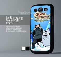 Game of thrones with jon snow and g, For Samsung s3 Hard Plastic Black | YourCazeMate - Accessories on ArtFire