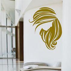 Salon Wall Art hair salon wall art | hair salon & beauty big removable wall