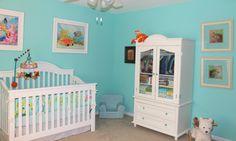 Tropical Theme Nursery