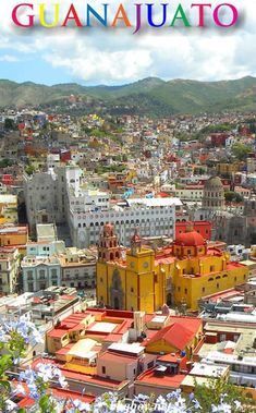 It's amazing that most people still have never heard of the Mexican town of Guanajuato. It is a UNESCO site and one of the most beautiful towns in the world. All about Guanajuato in this post #bbqboy #Guanajuato #Mexico #travel