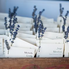 Add romantic accents of Lavender to your wedding reception
