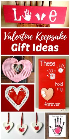 Valentine Keepsake Gifts Kids Can Make is part of Birthday crafts For Aunt - DIY Valentine keepsake gifts that kids can make add that special homemade touch perfect for any occasion Grandparents love handmade gifts like these! Funny Valentine, Roses Valentine, Valentine Gift For Dad, Homemade Valentines, Valentine Day Crafts, Holiday Crafts, Kids Valentines, Valentine Crafts For Toddlers, Handmade Valentine Gifts
