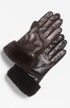 UGG® Australia 'Fashion Shorty' Tech Glove (Nordstrom Exclusive) available at #Nordstrom