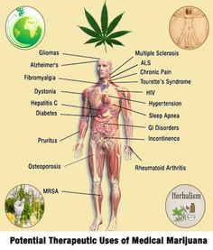 medical benefits are corroborated by research.