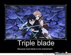 I love the triple blade move