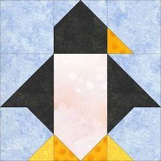 Peck's Pieces~Penquin Block