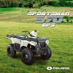 Un Polaris todo terreno: #Sportsman 570 EPS. Pide la tuya a polaris.informes@gruposcp.com #GoPolaris