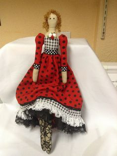 Tilda doll I did it !