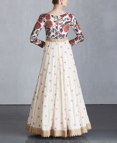 Check out our Off White Koela Buta Anarkali Dress by MRUNALINI RAO available at Ogaan Online store at special price. Shop Online Off White Koela Buta Anarkali Dress by Mrunalini Rao available at Ogaan India Indian Long Gowns, Wedding Dresses Men Indian, Wedding Dress Men, White Anarkali, Anarkali Dress, Georgette Dresses, Simple Gown Design, Long Dress Design, Floral Skirt Outfits