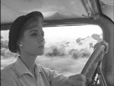 Lucille fletcher while driving cross country a young woman notices