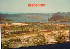 Reedsport, OR (postcard) Southern Oregon Coast, Oregon Waterfalls, West Coast Road Trip, Evergreen Forest, Covered Bridges, Paris Skyline, Scenery, Landscape, City