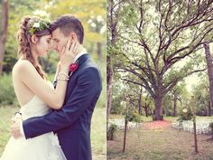 Bohemian Dallas Wedding  @ruffledblog @thebowsarrows
