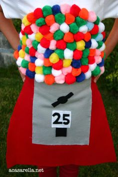 'A Casarella: DIY (Bubblegum) Gumball Machine Halloween Costume