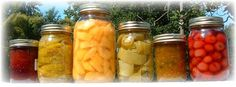 home canning local food