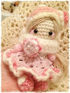 crochet by *soraironoyume*MISHA  http://ameblo.jp/soraironoyume-misha/entry-11695168229.html