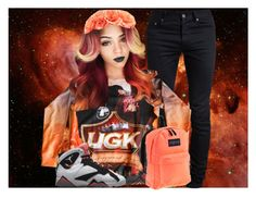 """""""UGK"""" by ladiijae ❤ liked on Polyvore featuring moda, Yves Saint Laurent y JanSport"""
