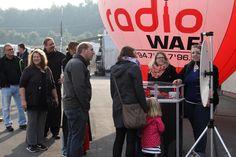 Beim Radio WAF-Glücksrad konnte mit etwas Glück tolle Preise gewonnen werden! #LMC #60JahreLMC #RadioWAF #Glücksrad