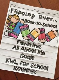 Back-to-School Flip Book FREEBIE! Back-to-School Flip Book is a perfect beginning of the year activity for your incoming elementary kids. This handy little flip book makes a great back to school morning working or welcome activity. Grab it for free! #backtoschoolfreebie #backtoschoolelementary #backtoschoolforteachers #backtoschoolideasforteachers #beginningofyear #backtoschoolresourcesforteachers #backtoschoolbellwork #backtoschoolgoals #backtoschoolwelcome #backtoschoolactivities