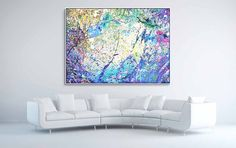 Napa Valley acrylic on canvas, x x cm) Napa Valley, Flat Screen, Abstract Art, Paintings, Canvas, Color, Tela, Colour, Flat Screen Display