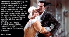 What James Garner thinks of Doris Day.