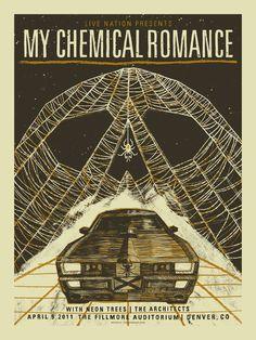 My Chemical Romance  April 9, 2011  The Fillmore Auditorium