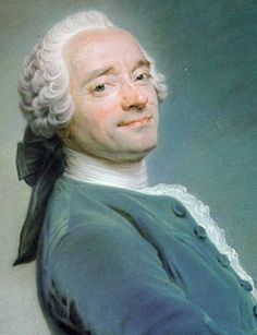 Quietly Confident Selfie! Maurice Quentin de La Tour (5 September 1704 – 17 February 1788) ca. 1751, French Rococo portraitist who worked primarily with pastels. Among his most famous subjects were Voltaire, Rousseau, Louis XV and Madame de Pompadour.