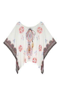 White kimono with feathers White Kimono, Tally Weijl, Online Checks, Mode Style, Feathers, Shop Now, Crop Tops, Clothes For Women, Outfits