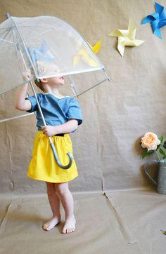 Pocket Full of Sunshine Skirt by CauliflowerKids on Etsy