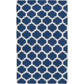 Found it at Wayfair - Alejandra Mediterranean Blue & Winter White Area Rug