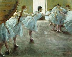Degas - Dancers at Rehearsal