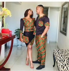 10 Beautiful Traditional Ankara Styles For Couples In 2018 Couples African Outfits, African Dresses Men, Latest African Fashion Dresses, Couple Outfits, African Print Fashion, Africa Fashion, Ankara Fashion, African Wedding Attire, African Attire
