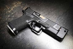 I got a chance to do pics of new Comp/Standoff Device! Custom Glock, Custom Guns, Tactical Knives, Tactical Gear, Tac Gear, Work Tools, Assault Rifle, Guns And Ammo, Self Defense
