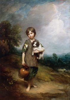 Thomas Gainsborough   Cottage Girl with Dog and Pitcher, 1785