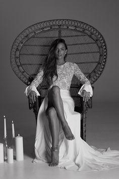 Vestido de novia de Rime Arodaky : Modelo Endora : Tendencias de Bodas blog