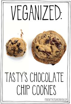 I took the viral cookie recipe and made it vegan. All the same flavours and textures, without eggs and dairy-free. Baking Chocolate Chip Cookies, Perfect Chocolate Chip Cookie Recipe, Sugar Cookies, Healthy Vegan Snacks, Vegan Treats, Cookies Vegan, Vegan Dessert Recipes, Cookie Recipes, Dairy Free Baking