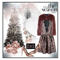"""""""""""It was the season...That..."""" by onesweetthing on Polyvore featuring Stine Goya, McQ by Alexander McQueen, NERIDA FRAIMAN, Alexander Wang, Ted Baker and Effy Jewelry"""