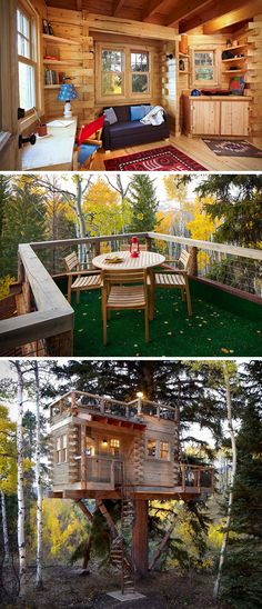 Treehouse For Grown-Ups