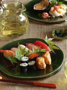 Sushi Platter (Nigiri, Maki and Inarizushi)|寿司