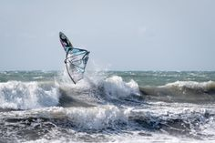 Windsurfing, Waves, Outdoor, Outdoors, Ocean Waves, Outdoor Games, The Great Outdoors, Beach Waves, Wave