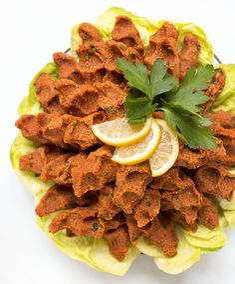 Lecker - Vegane Cig Köfte aus Bulgur bestehen aus einfachen Zutaten und sind sehr einfach zu machen! Herrlich würzig und sehr schmackhaft!